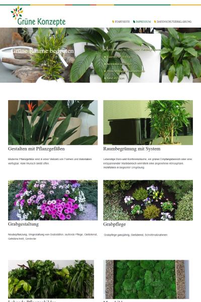 Grüne Konzepte / Pflanzen-Konzepte