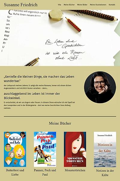Autorin - Illustratorin - Fotografin - Susanne Friedrich