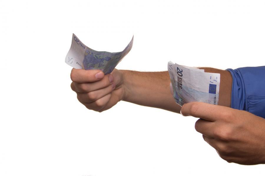 Geld verteilen