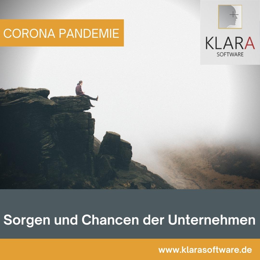 Corona: Sorgen und Chancen der Unternehmen