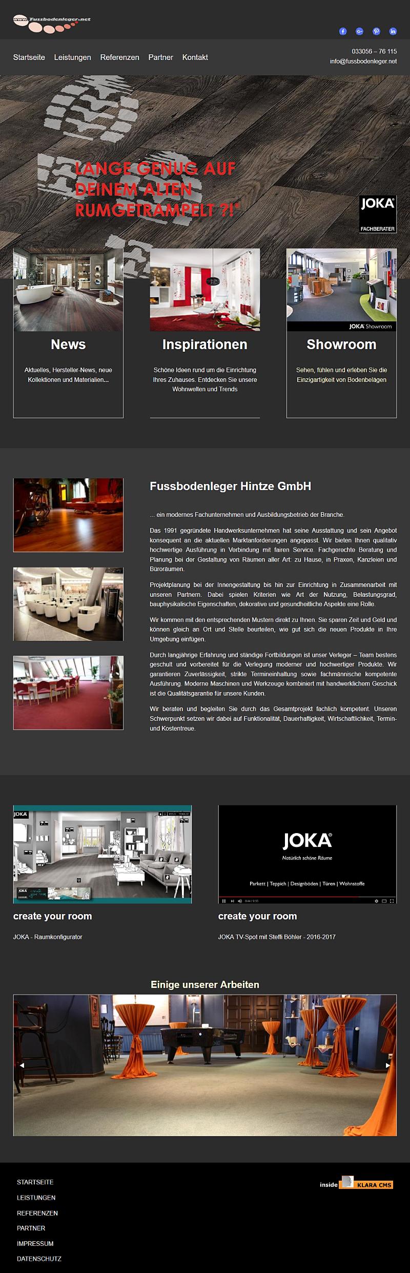 Fussbodenleger Hintze GmbH