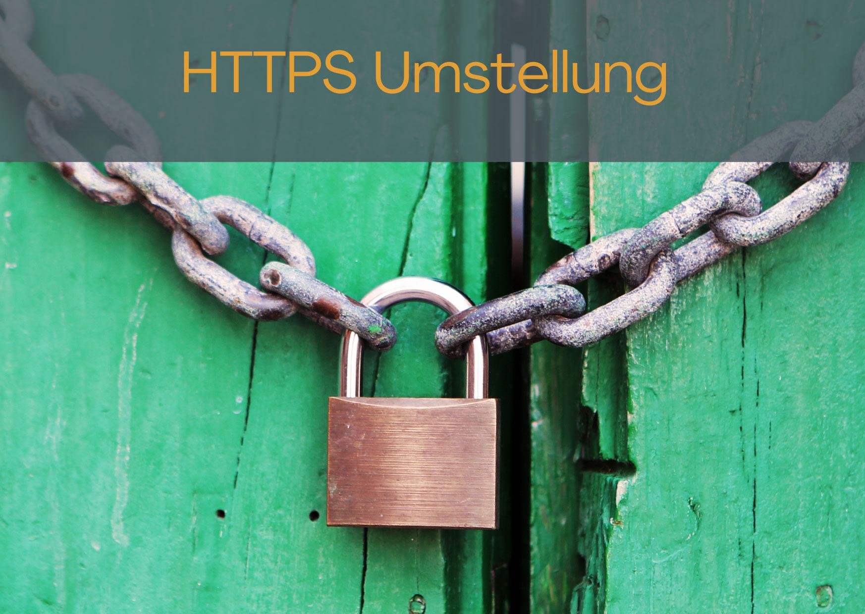 Stellen Sie Ihre Seite auf HTTPS um!