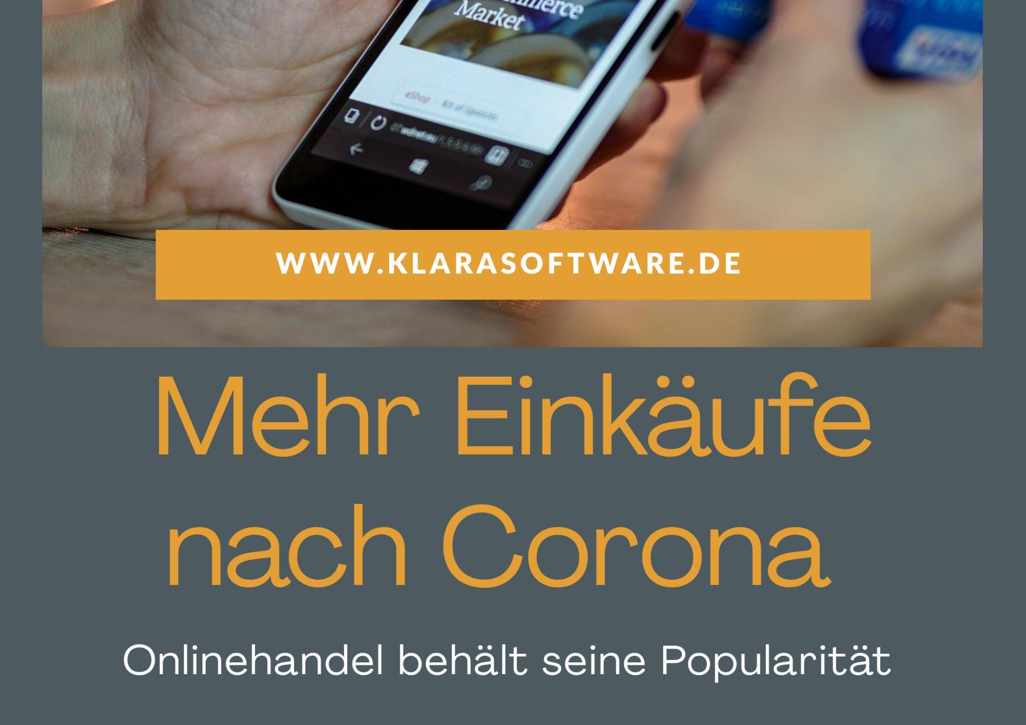 Mehr Online-Einkäufe nach Corona