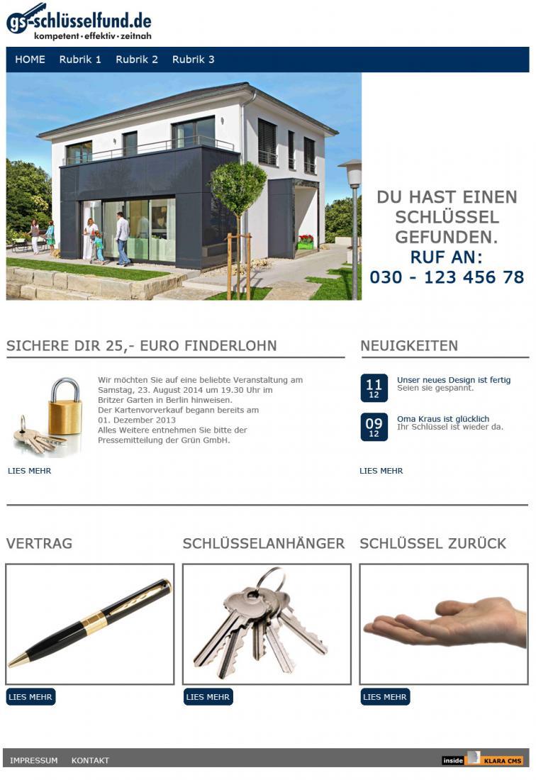 GS-Schlüsselfund