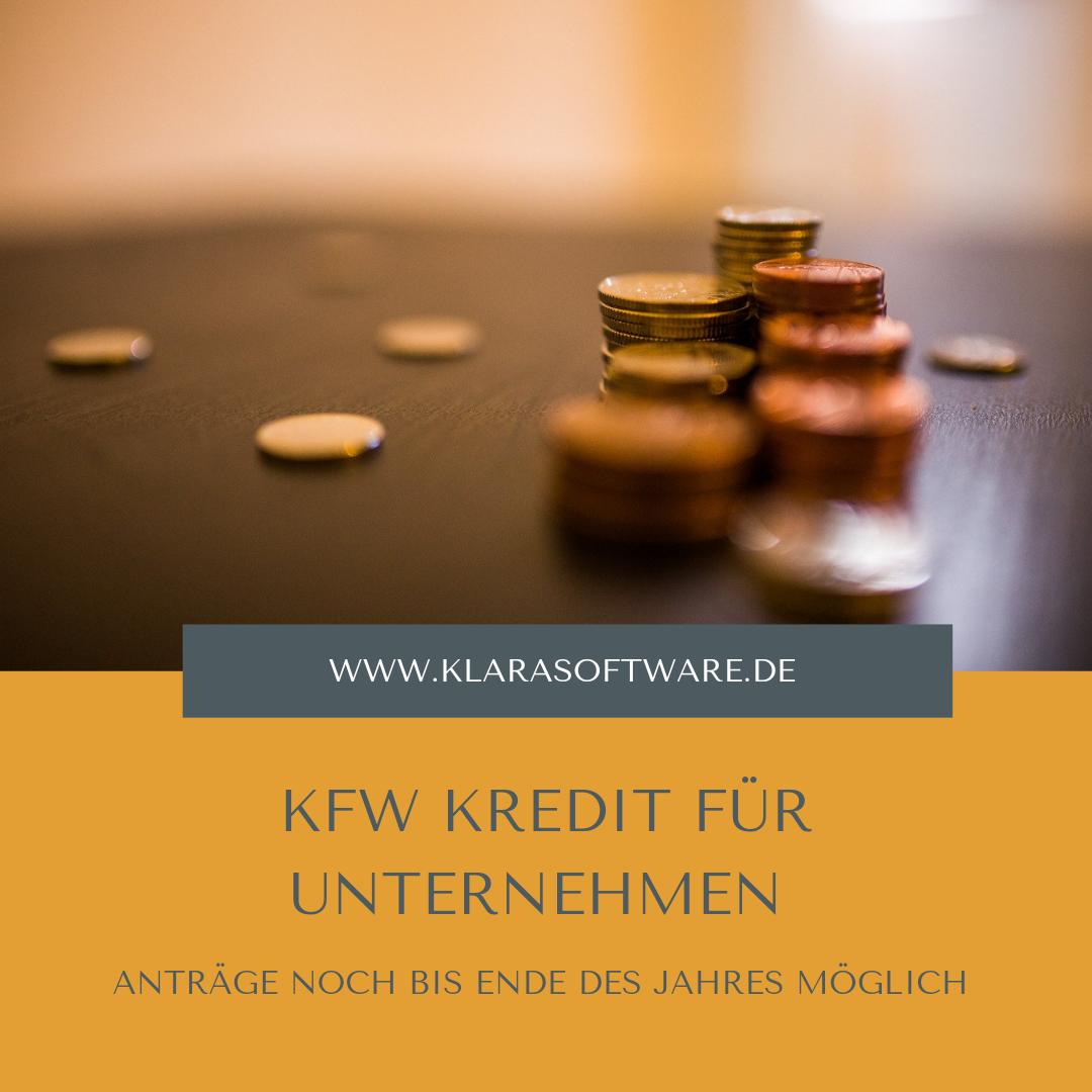 KfW Kredit für Unternehmen