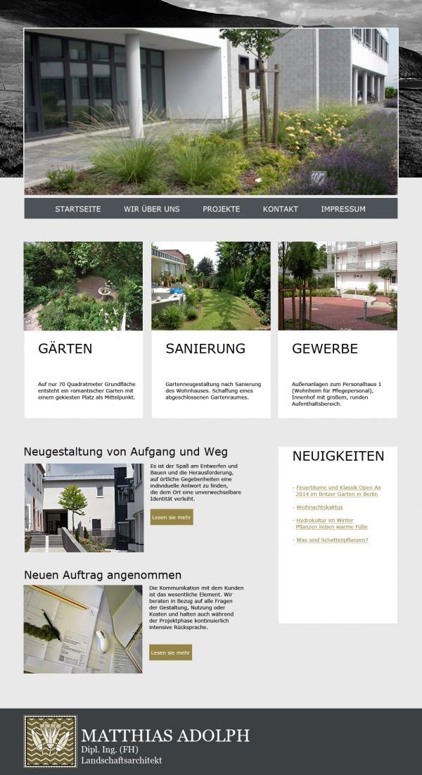 Landschaftsarchitekt Matthias Adolph