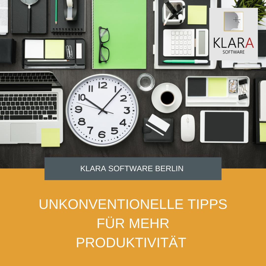5 unkonventionelle aber effektive Tipps für mehr Produktivität im Büro