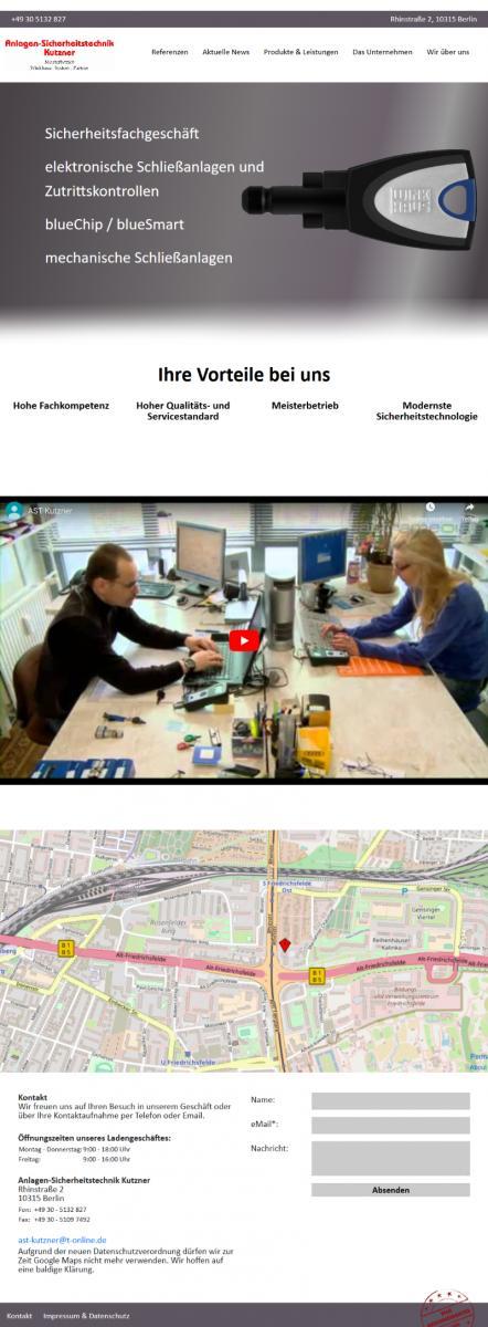 Anlagen-Sicherheitstechnik Kutzner