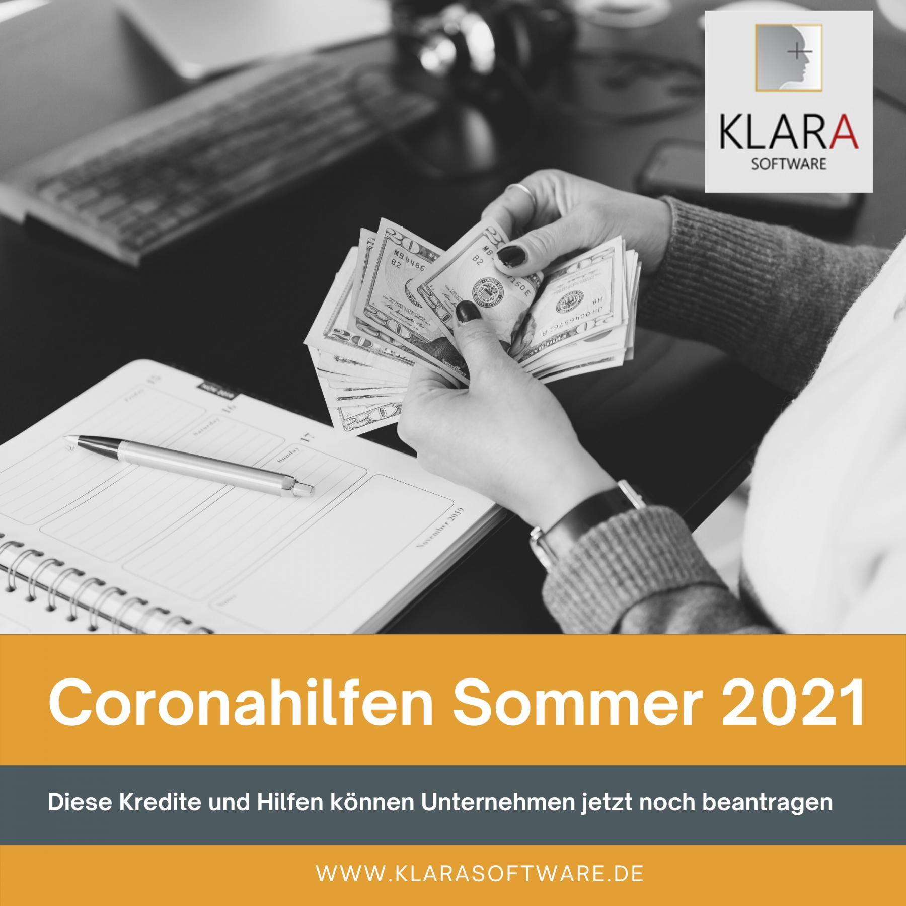 Coronahilfen Sommer 2021