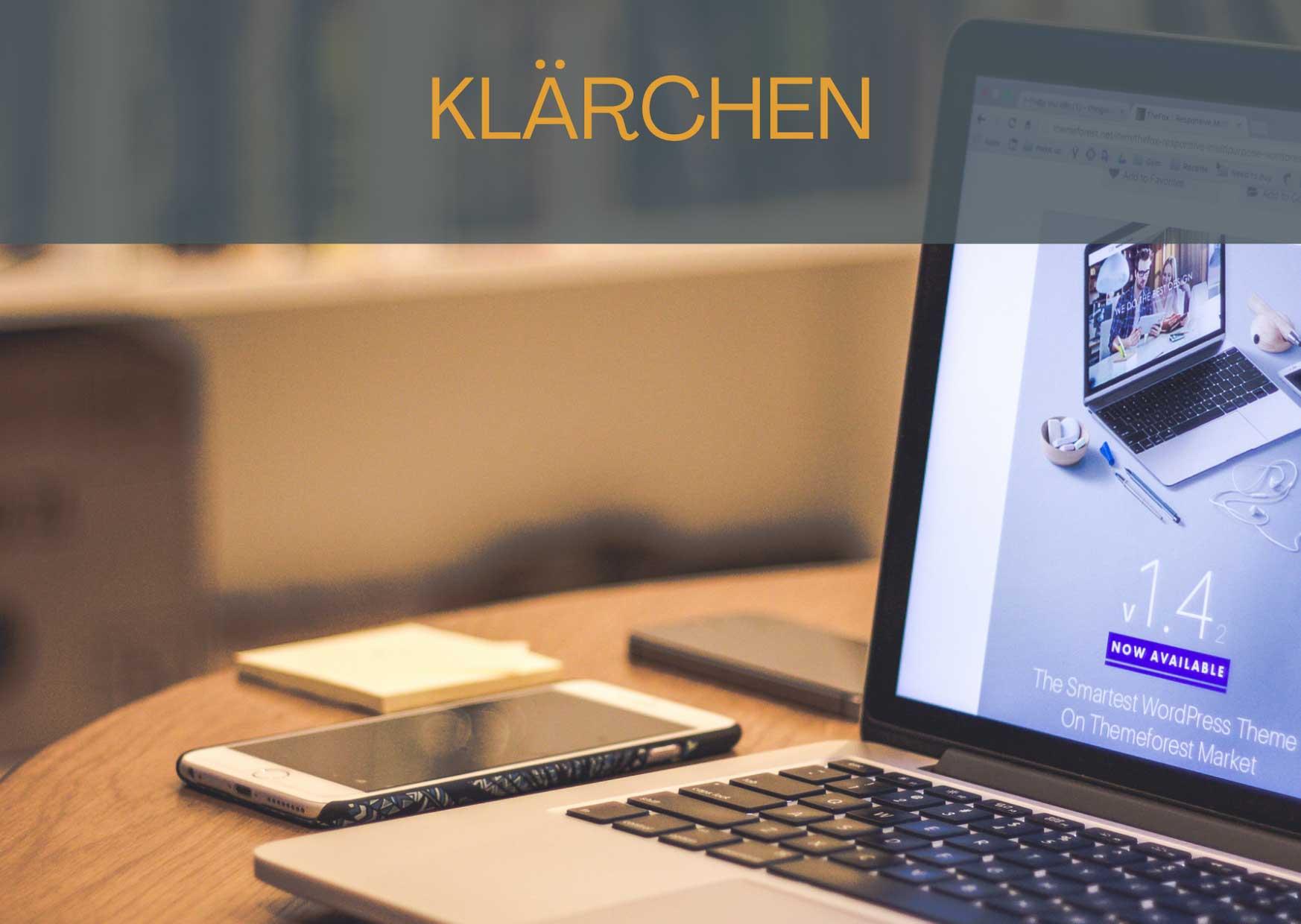 KLÄRCHEN - Die kleine Homepage