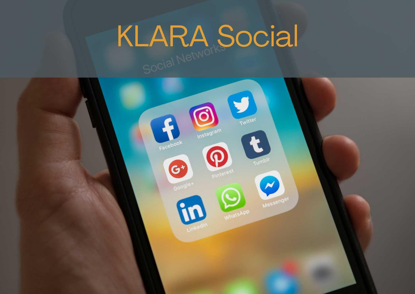 Wir bringen Sie in die sozialen Netzwerke! Ganz ohne Streß.