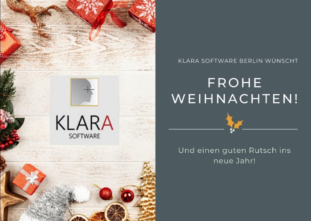 KLARA Software wünscht frohe Weihnachten