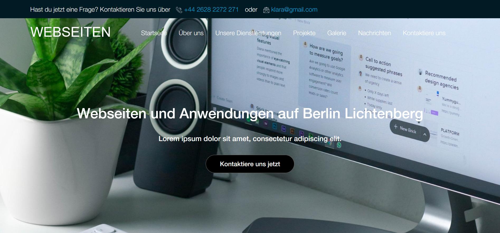 Webseiten aus Berlin Lichtenberg